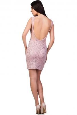 Rochie roz pudrat